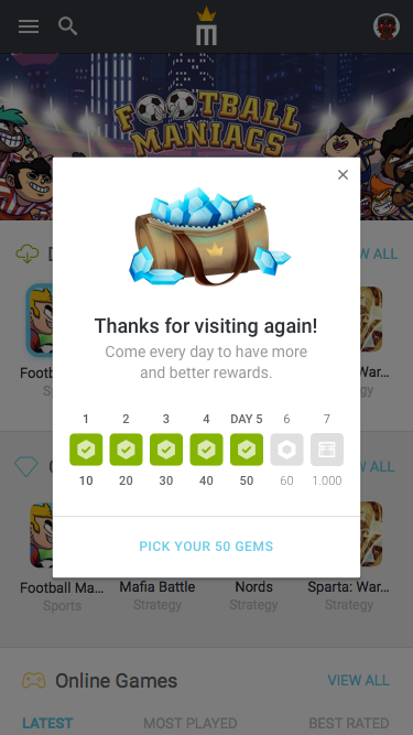 8.5 – Notification – Visits day 5