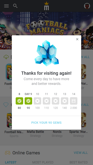 8.9 – Notification – Visits day 9