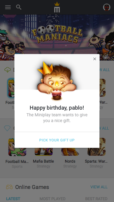 9.2 – Notification – Birthday
