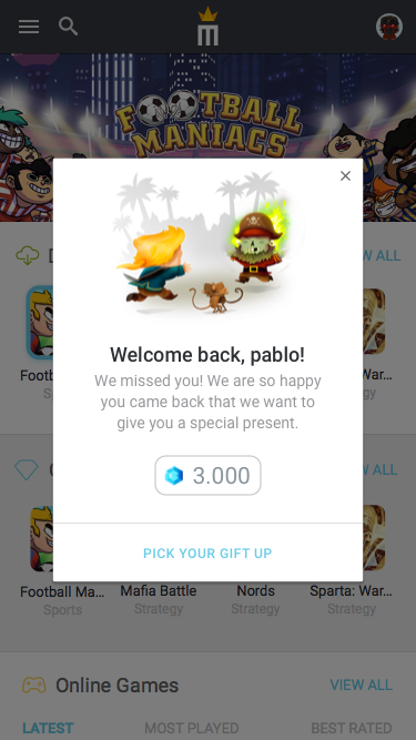 9.3 – Notification – Welcome Back