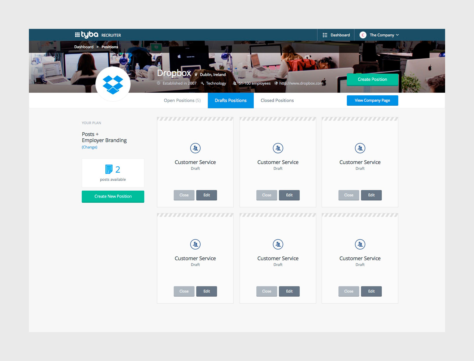 Dashboard—Drafts—v1