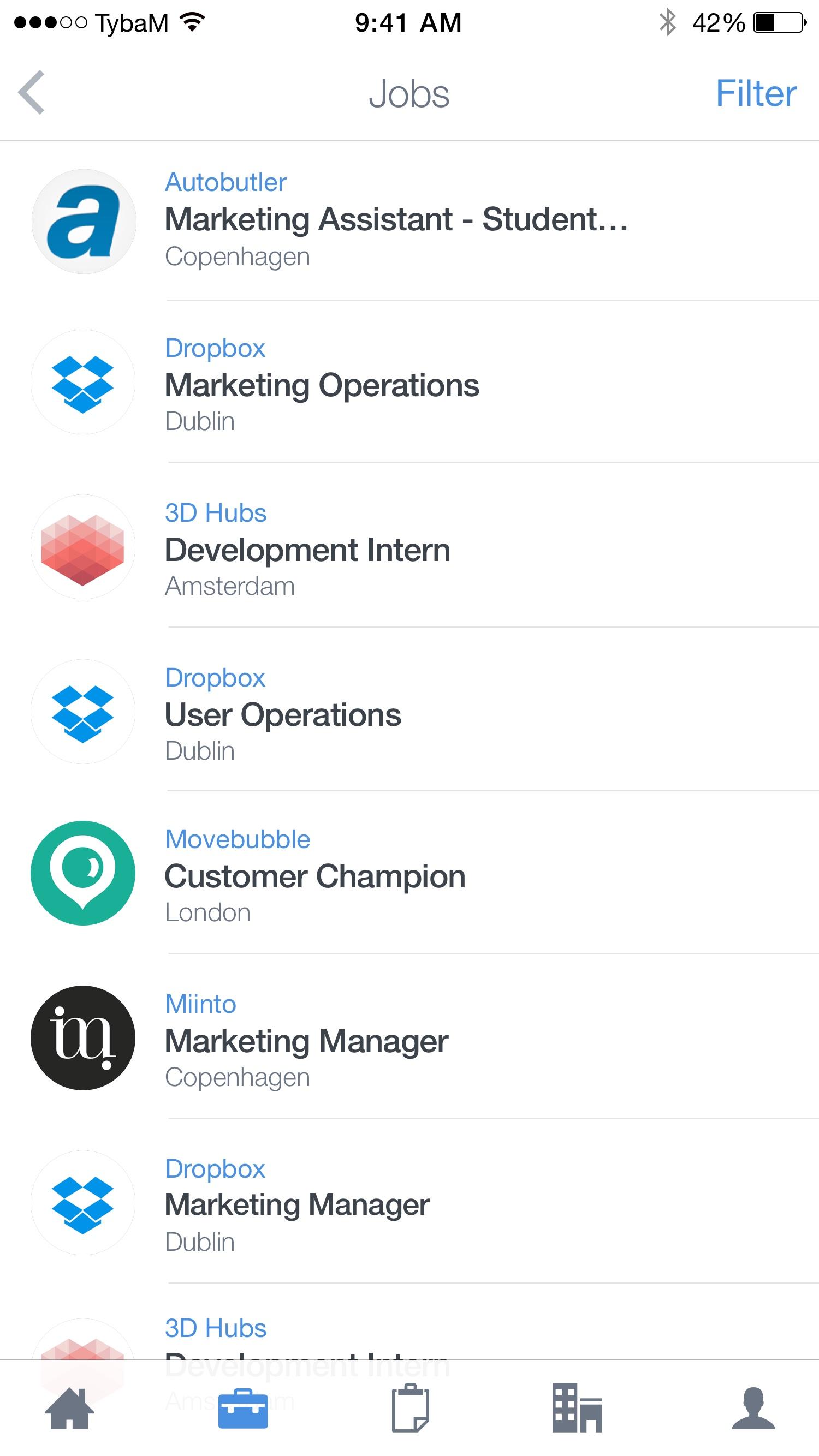 Jobs – List