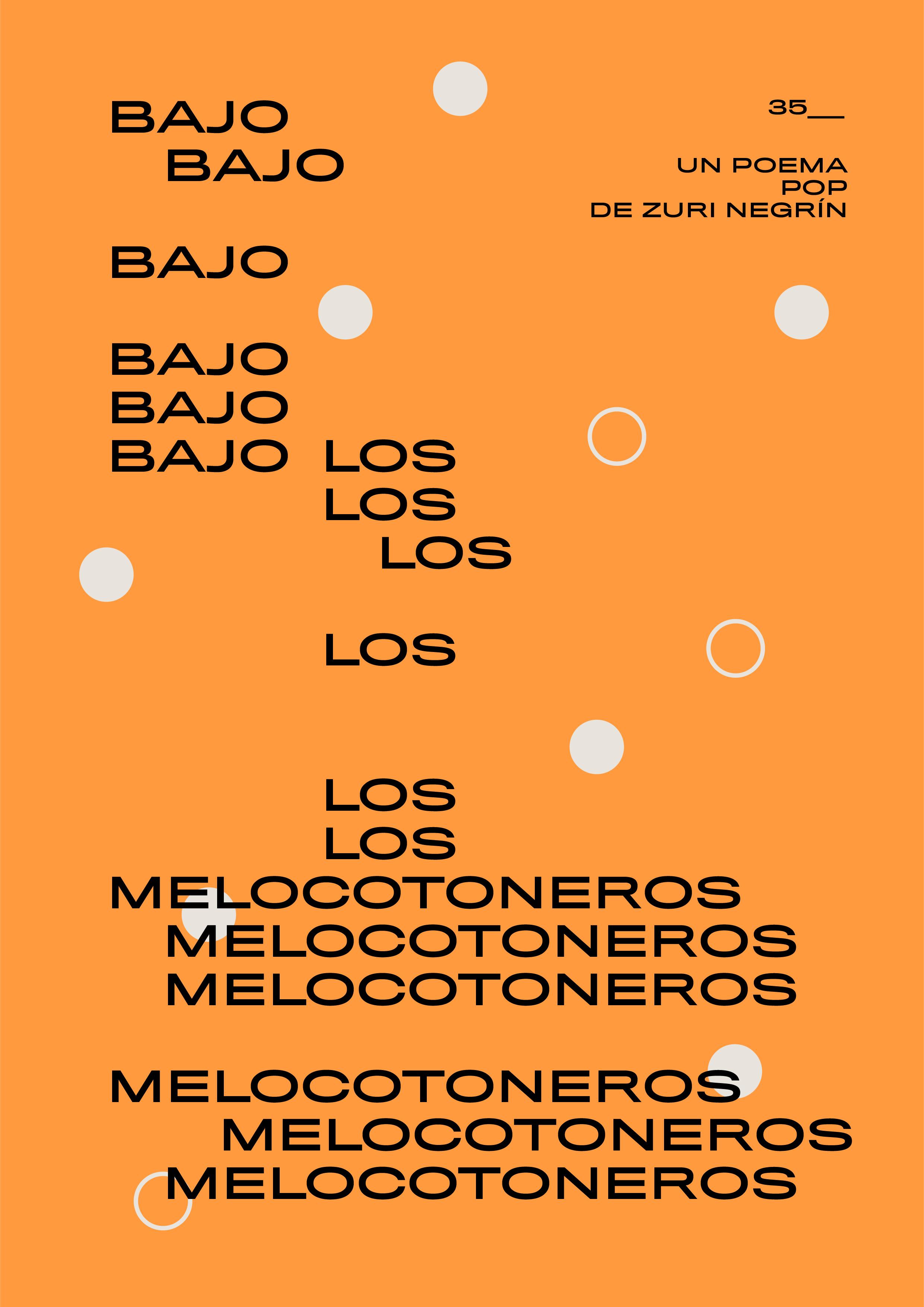 POP_35 Bajo los melocotoneros